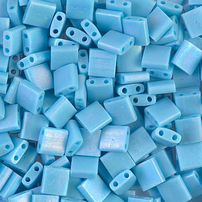 Tila Beads TL-0413FR Mat Opaque Turquoise Blue AB x 10 g