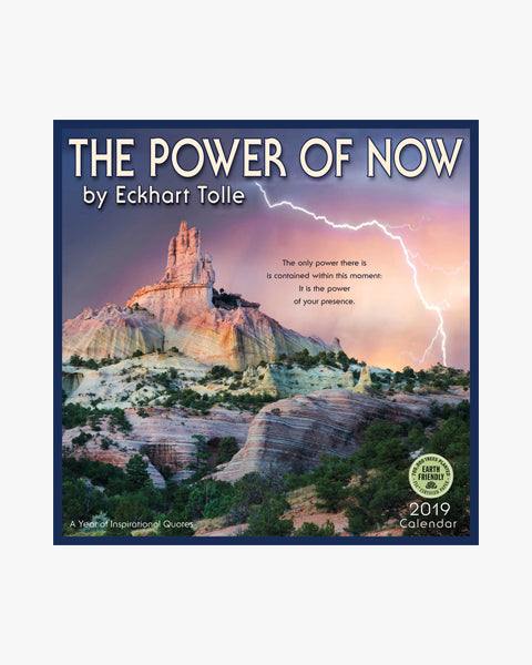 Power of Now - 2019 Wall Calendar