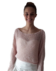 Beemohr knits bridal sweaters wide and soft