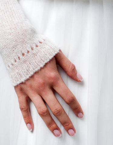 Cashmere sweater for the wedding