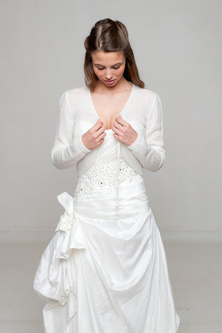 Wedding dresses in white and ivory