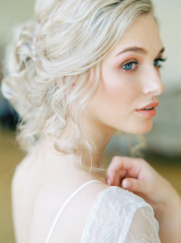 Bride - makeup and styling for the wedding 2019