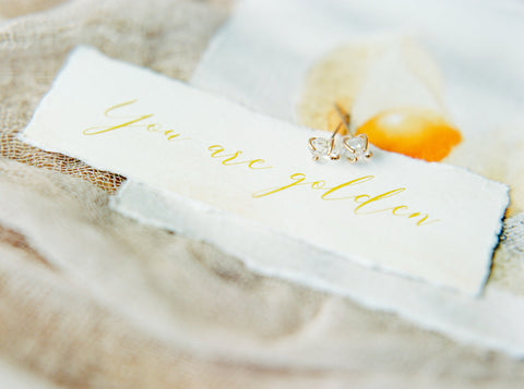 Message of love for the bride