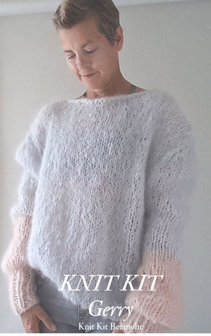 Mohair sweater to knit yourself by Beemohr