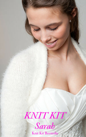 The right knit kit for your own knitted bridal jacket
