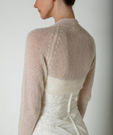 Bridal jacket for your wedding made of cashmere