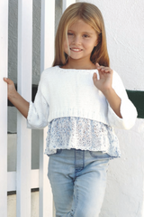 Free knitting instructions for children's sweaters Katia
