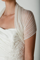 Bridal stole yourself knitting with this knitting set: wool and knitting instructions