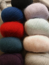 Angora wool long yarns for cozy cardigans order online