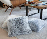 Cushion covers made of cuddly wool by Gründl to knit yourself