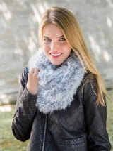 Loop knitted from arctic wool by Gründl