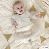 Knitting box: cute knitted dress for little girls in a wool mix: Ingenious Big and Polar