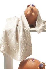 Baby blanket to knit yourself with baby merino wool from katia