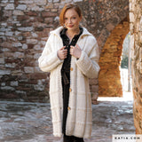 Knit Couture: order knitted coat online unique