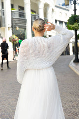 Knit bolero to knit yourself for brides silver