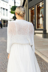 Do-it-yourself jacket for brides, silver