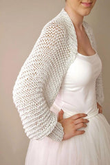 Bridal jacket in silver and gold for festive dresses and weddings