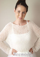 Bridal sweater to knit yourself from baby alpaca