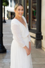 LA Brides Wedding sweater knitted for brides from Beemohr