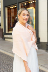 Do-it-yourself bridal stole Beaugency