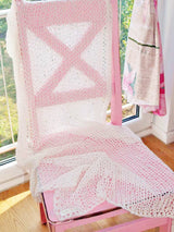 Bridal stole for boho wedding knitted for her wedding