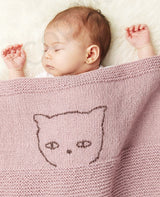 KNIT KIT: Baby blanket made of CATENA Merino Fine by Katia to knit yourself