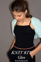 Do it yourself: Bolero for children made from Katia wool Bombon
