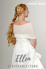 Shoulder warmer for the winter bride, autumn bride to knit yourself