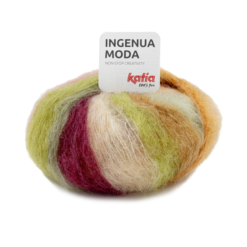 Multicoloured ingenua moda wolle 101