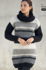 Knit dress long sweater knit stay at home in Corona times