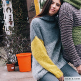 We knit your cozy sweater for you from Ingenua mohair wool