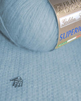 Cashmere by Filatura DI Crosa in light blue perfect for Anna and Elsa fans