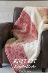 Cozy couch blanket to knit yourself Polar