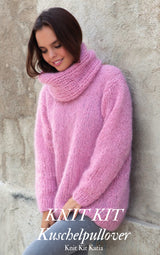 Cuddly sweater, thick and warm, quickly knitted Ingenua by Katia