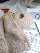 Baby alpaca by Katia puder for a cardigan