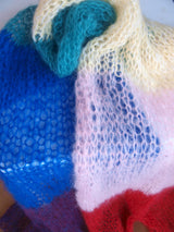 Pride Fashion knitted in the rainbow colors
