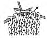 Knit basics evenly knitted