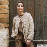 Gatsby gold 45 and mohair Ingenua for a cardigan