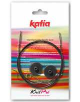 Knitting needle cable for a knitting coat with instructions, wool and knitting needles
