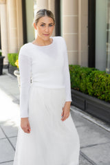 Knitted cashmere bridal sweater for boho and vintage weddings