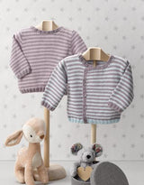 Jackets and sweaters for children are knitted from Katia baby merino
