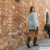Knitting box: Mohair sweater made of Ingenua wool by Katia to knit yourself