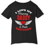 I Love My Mommy & Daddy Infant Tee