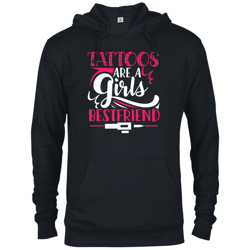 Tattoos Are a Girls Bestfriend Hoodie