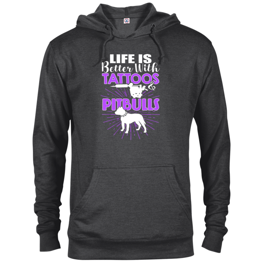 Life Is Better With Tattoos & Pitbulls Hoodie