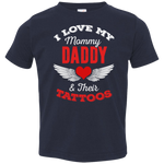 I Love My Mommy & Daddy Toddler Tee