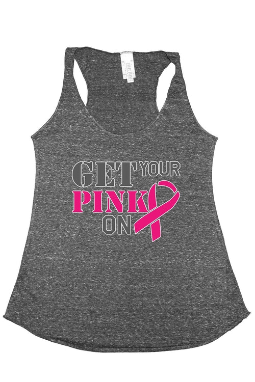 Breast Cancer Awareness Women's Warrios Fight Strong Tank