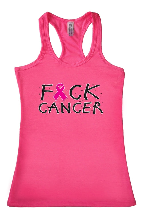 Breast Cancer Awareness F*ck Cancer! Tank