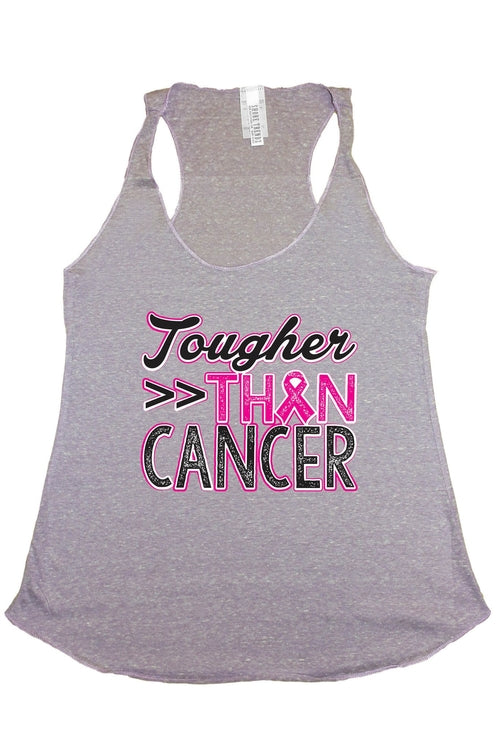 "Breast Cancer Awareness ""Tougher Than Cancer"" Tank"