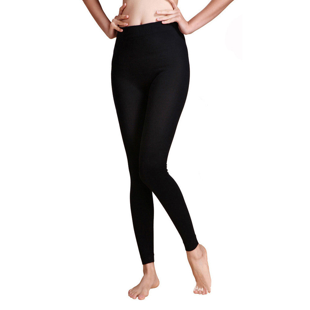 Ladies Standard Black Workout Leggings